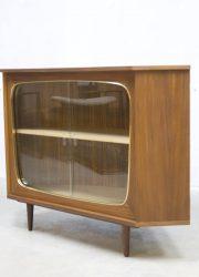 vintage hoekkast kast dressoir drankenkastje Deens retro