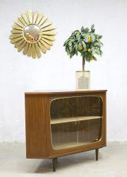 Danish vintage design midcentury corner cabinet sixties fifties retro