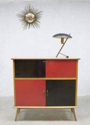 vintage wandkast retro cabinet midcentury modern