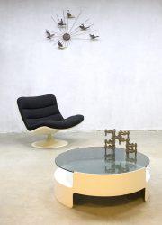 Vintage Dutch design Nebu coffee table spage age salontafel