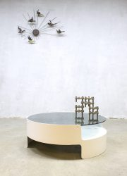 midcentury modern coffee table space age seventies Nebu Holland