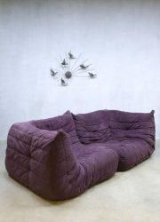 Ligne Roset sofa lounge bank paars purple Michel Ducaroy