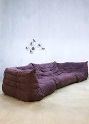 Vintage Togo Ligne Roset design lounge sofa bank Michel Ducaroy