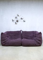 Vintage sofa lounge bank Ligne Roset Togo