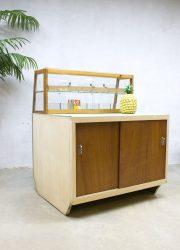 vintage vitrinekast balie toonbank industrieel jaren 50 60