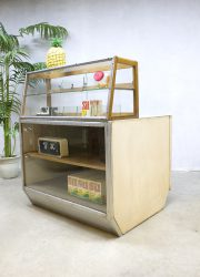 vintage shop counter industrial cabinet vitrine fifties sixties