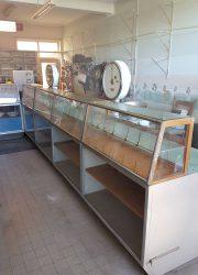 vintage industrial counter cabinet dressoir vitrine fifties