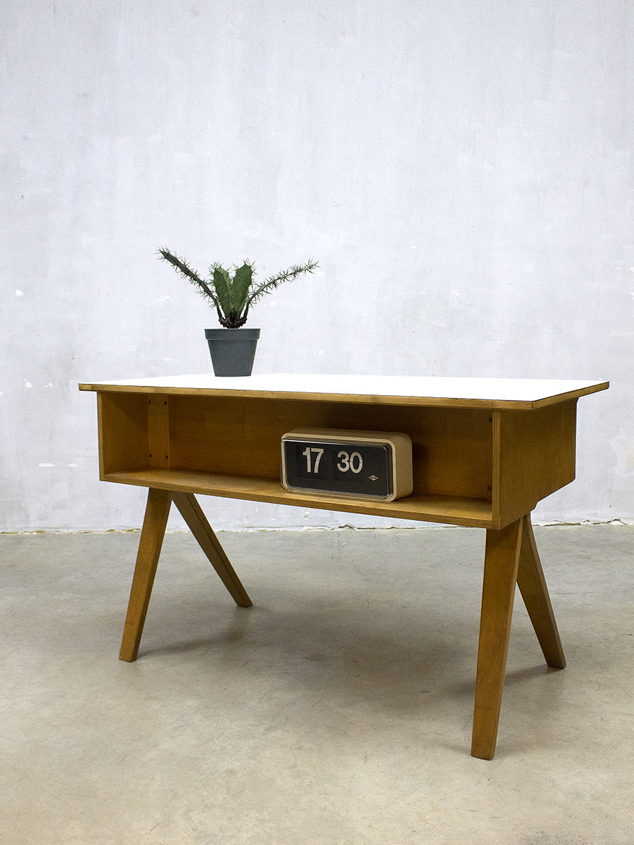 Vintage Design Bureau Desk Pastoe Cees Braakman Model Eb02