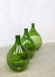 green glass bottle pharmacy vintage wine bottles