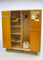 Vintage design Pastoe cabinet wardrobe Cees Braakman kast KB04