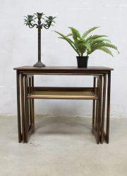 Johannes Andersen vintage design nesting tables mimiset Illum Wikkelso CFC