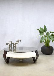 Midcentury vintage design coffee table salontafel Space Age