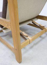 vintage Deense lounge chair lounge fauteuil N. Eilersen