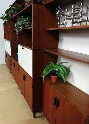 vintage Pastoe wandkast Cees Braakman wall unit Dutch design cabinet