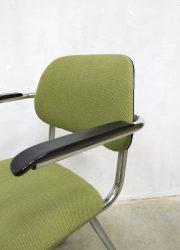 vintage Dutch design dinner chairs chair kantoor stoelen stoel