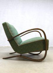 vintage Jindrich Halabala chair Art deco fauteuil