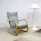 Vintage design Alvar Aalto lounge chair for Artek model 401 fauteuil