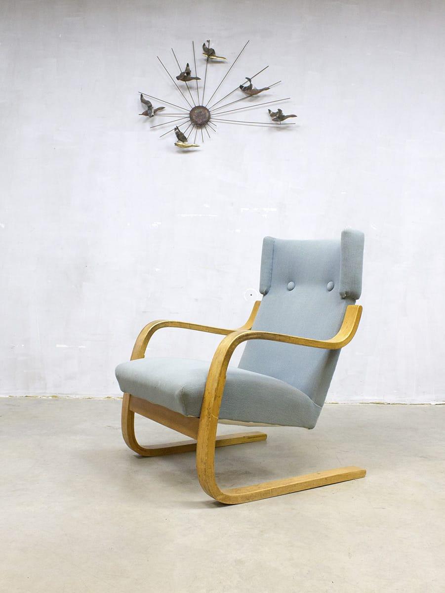 alvar aalto finland 401 fauteuil lounge chair bestwelhip. Black Bedroom Furniture Sets. Home Design Ideas