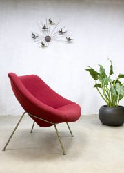 Artifort lounge fauteuil stoel Pierre Paulin Oyster chair