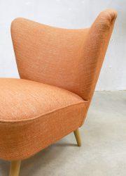 Vintage stoelen fauteuils cocktail chair fifties sixties design