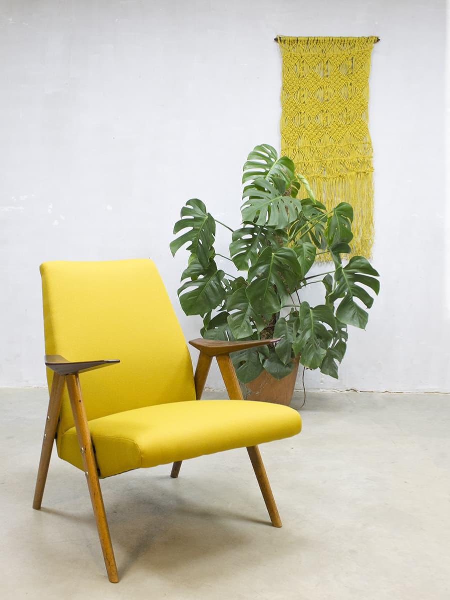 Wonderbaar Vintage Danish armchair lounge chair, vintage lounge fauteuil Deens HI-87