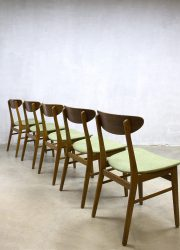 Scandinavian vintage dinner chairs eetkamerstoelen