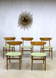 Farstrup Mobler eetkamerstoelen midcentury modern dining chairs