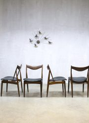 midcentury design Finn Juhl Niels Vodder vintage Egyptian dinner chair eetkamerstoel