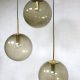 pendant hanglamp bollamp vintage design Glashütte Limburg