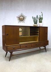 bar cabinet vintage design wandkast Louis van Teeffelen highboard cabinet Webe