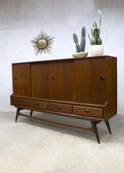 vintage Webe dressoir highboard kast Louis van Teeffelen mid century design