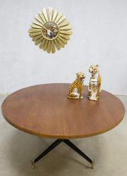 Midcentury vintage design coffee table salontafel Osvaldo Borsani style