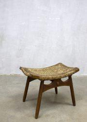 voetenbank poef Deens design ottoman stool Danish