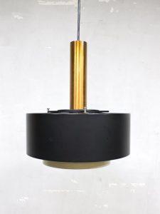 Vintage pendant lamp copper Hiemstra Evolux hanglamp