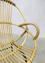 Rohe Noordwolde dutch design rattan sofa chair bank