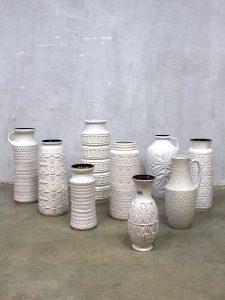 Vintage West Germany vase decoration keramiek vazen