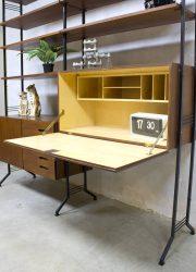 vintage design secretaire buro bureau desk sixties Danish