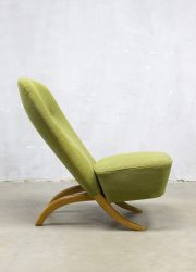 vintage Artifort fauteuil Dutch design congo chair Theo Ruth