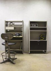 Gispen Cordemeijer steel cabinet wall unit Dutch modernism, vintage wandkast A.R Cordemeijer Gispen 5600