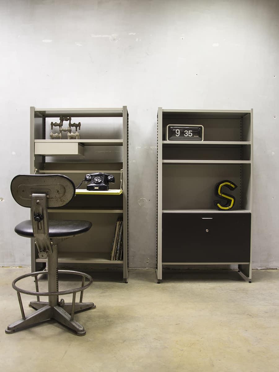 Gispen Cordemeijer Steel Cabinet Wall Unit Dutch Modernism