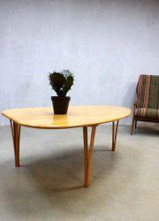 mid century modern coffee table vintage design salontafel Haslev