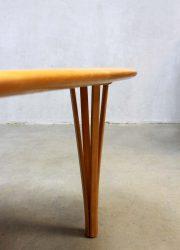 vintage Haslev Mobelsnedkeri coffee table salontafel