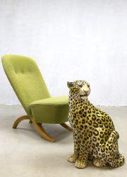 Vintage congo chair Artifort Theo Ruth Dutch design fauteuil