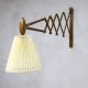 Vintage Sax scissor wall lamp schaarlamp Erik Hansen for Kaare Klint