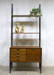 midcentury modern wall unit Webe Louis van Teeffelen minimalism