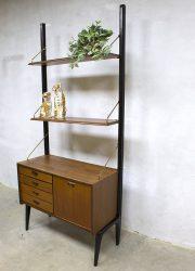 Louis van Teeffelen wall unit modulair wandsysteem vintage design