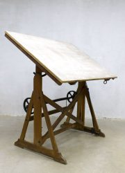 vintage Dutch design Ahrend de Cirkel drawing table