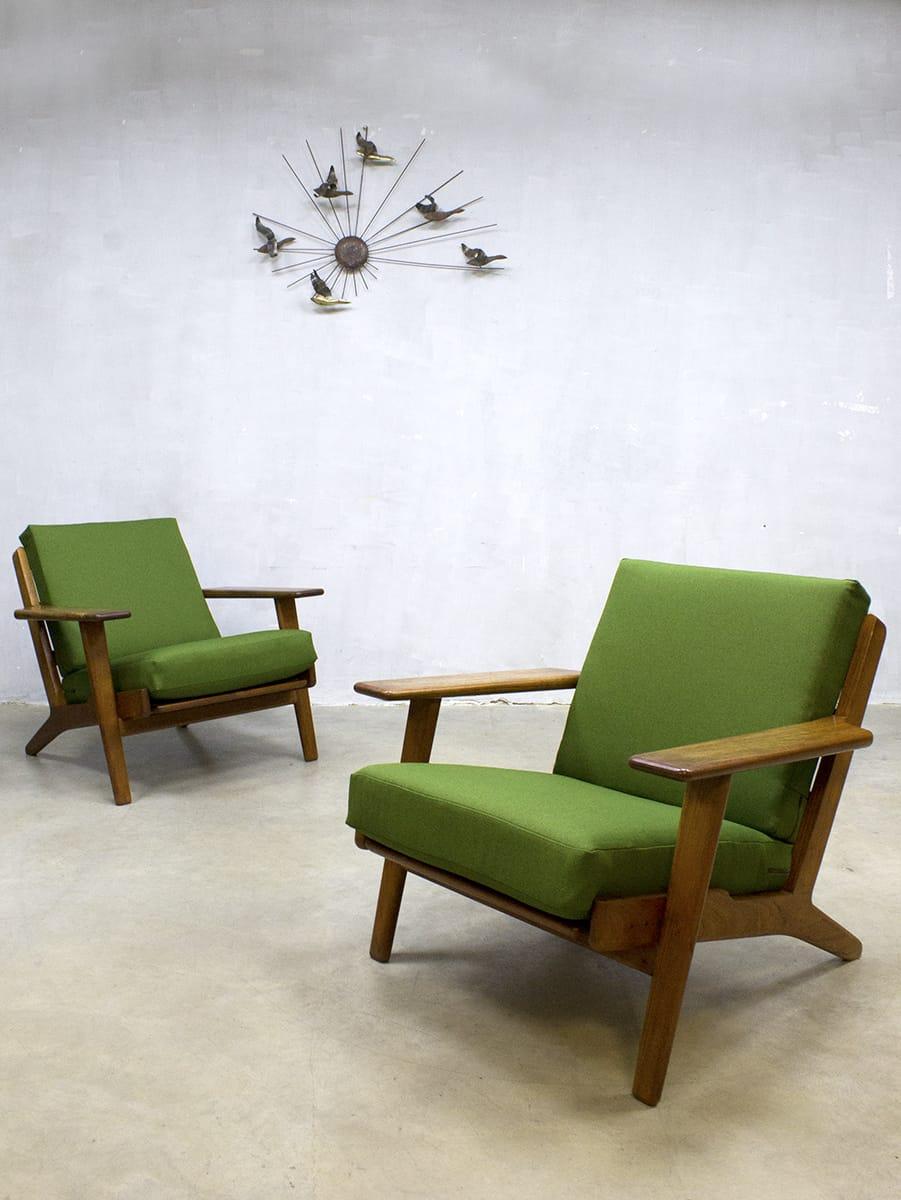 Midcentury Design Lounge Set Sofa Bank Armchair Hans