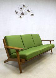 vintage sofa Hans Wegner GE290 mid century modern Danish design