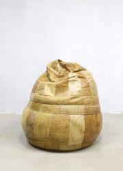 industrial beanbag leren zitzak poef De Sede Switzerland design